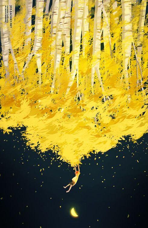 cer de aur peste noapte